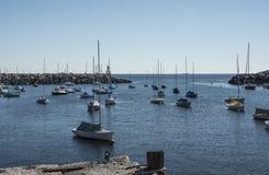 Barcos en descanso Foto de archivo