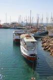 Barcos en el agua Fotos de archivo