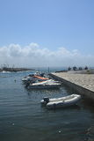 Barcos en el agua Foto de archivo libre de regalías