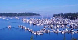 Barcos en el agua Fotografía de archivo libre de regalías