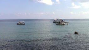 Barcos en el mar metrajes