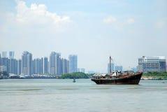 Barcos en el mar Fotografía de archivo