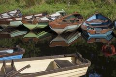 Barcos en el parque nacional de Killarney, condado Kerry Fotos de archivo