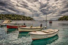 Barcos en el puerto Imagen de archivo libre de regalías