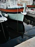 Barcos en el puerto Bol, Croacia Fotografía de archivo