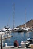 Barcos en el puerto, Cabo San Lucas Fotografía de archivo libre de regalías