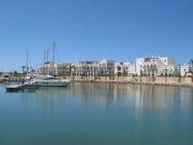Barcos en el puerto deportivo imagen de archivo libre de regalías