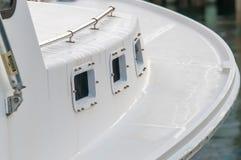 Barcos en el puerto deportivo en la salida del sol Foto de archivo libre de regalías