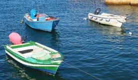 Barcos en el puerto, Lagos, Portugal Imagen de archivo libre de regalías
