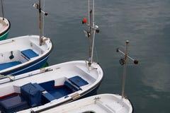 Barcos en Elantxobe Imágenes de archivo libres de regalías