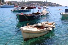Barcos en Hvar Foto de archivo