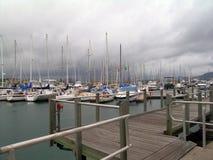 Barcos en la amarradura Fotos de archivo libres de regalías