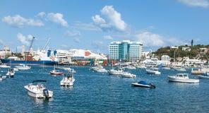 Barcos en la bahía imágenes de archivo libres de regalías