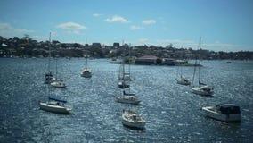 Barcos en la ensenada del hierro del puerto, Sydney