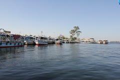 Barcos en Nile River Fotos de archivo