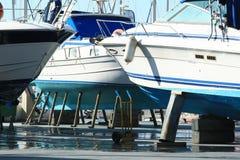 Barcos en orilla Fotografía de archivo libre de regalías