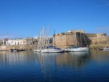 Barcos en puerto Imágenes de archivo libres de regalías
