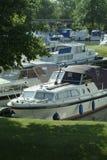 Barcos en puerto deportivo imagen de archivo