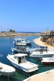 Barcos en Sissi Foto de archivo libre de regalías