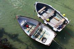 Barcos en St Ives Imagenes de archivo