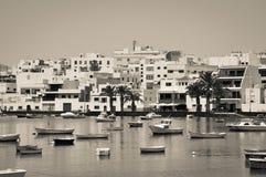 Barcos en Tenerife Fotos de archivo