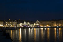 Barcos en Trieste Fotografía de archivo libre de regalías