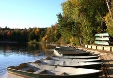 Barcos en una fila Fotografía de archivo