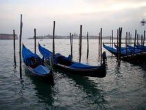 Barcos en Venecia Fotografía de archivo libre de regalías