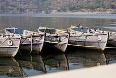 Barcos entrados Foto de Stock Royalty Free