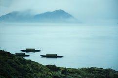 Barcos entre ilhas Foto de Stock Royalty Free