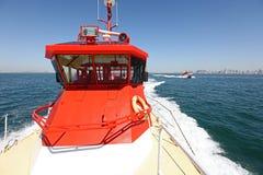 Barcos experimentales de alta velocidad Imagen de archivo