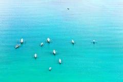 Barcos filipinos fotografia de stock