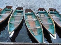 Barcos flotantes fotografía de archivo