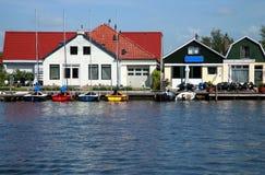 Barcos - Friesland Fotografia de Stock Royalty Free
