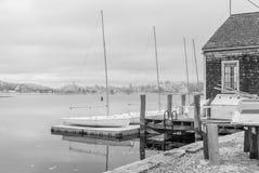 Barcos infrarrojos Imágenes de archivo libres de regalías