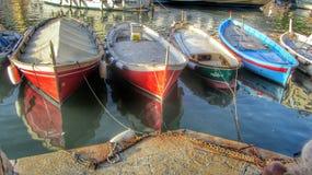 Barcos italianos fotografia de stock royalty free