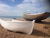 Barcos listos para la marea imagen de archivo