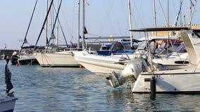 Barcos luxuosos vídeos de arquivo