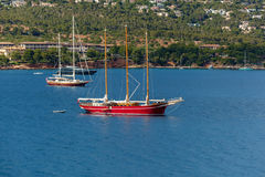 Barcos na água Imagem de Stock Royalty Free