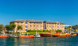 Barcos na autoridade portuária de Novo Gales do Sul em Sydney imagem de stock royalty free