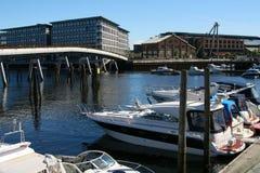 Barcos na doca. Imagem de Stock Royalty Free