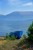 Barcos na praia Imagens de Stock Royalty Free