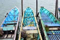 Barcos no cais foto de stock