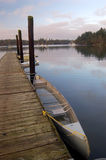 Barcos no cais Fotos de Stock Royalty Free