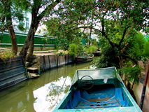Barcos no chanel Fotos de Stock Royalty Free