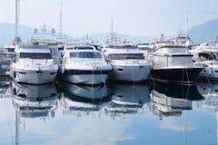Barcos no mar Foto de Stock Royalty Free