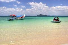 Barcos no paraíso Imagem de Stock Royalty Free