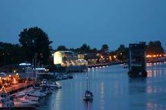 Barcos no porto Foto de Stock Royalty Free