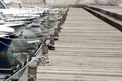 Barcos no porto Imagem de Stock Royalty Free