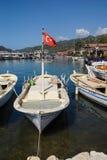 Barcos no porto de Kekove Fotografia de Stock Royalty Free